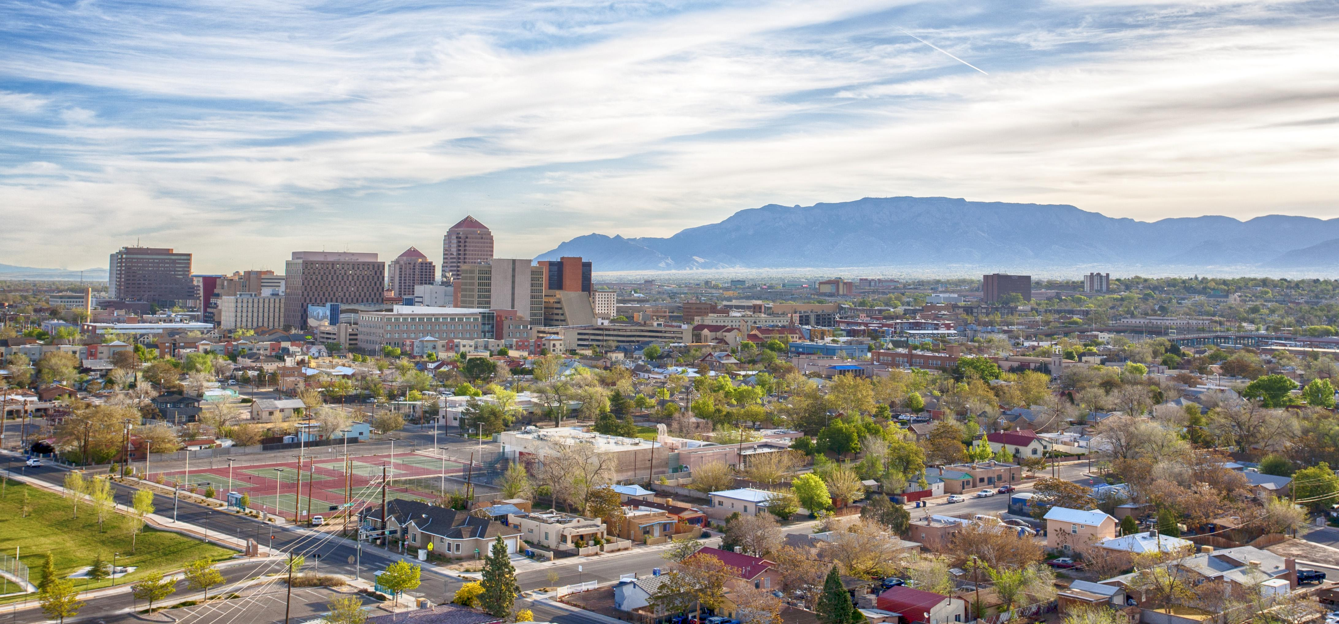Real Estate Business under the shadow of Beautiful Sandia Mountains in Albuquerque, New Mexico